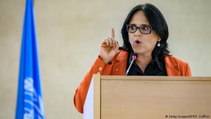 La ministra de la Familia de Brasil, Damares Alves, es de confesión evangélica