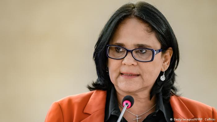 Genf UN-Menschenrechtsrat | Damares Alves, brasilianische Ministerin für Familie & Menschenrechte
