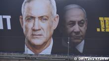 Israel Wahlkampf | Kahol Lavan & Benjamin Netanjahu, Blau-Weiß Bündnis