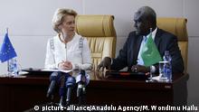 Äthiopien Addis Abeba | Treffen Afrikanische Union & Europäische Union | von der Leyen & Faki Mahamat