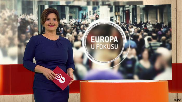 DW Sendung Europa u fokusu | Moderation Dunja Dragojevic