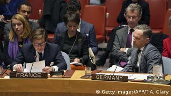New York   UN-Sicherheitsrat zu Krieg in Syrien   François Delattre, Botschafter Frankreich & Heiko Mass