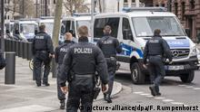 Police raid a German branch of Dutch bank ABN Amro