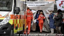 Italien Piacenza | Coronavirus | Medizinische Versorgung