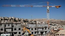 Israel: Wohnungsbau in Ostjerusalem