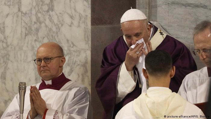 Papst Franziskus selbst dürfte seine starke Erkältung überwunden haben (Foto: picture-alliance/AP/G. Borgia)