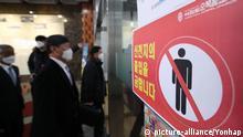 Südkorea: Ausbruch von Corona