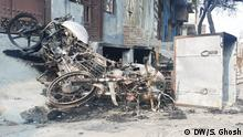 Indien Neu Delhi | Zerstörung nach den Unruhen durch Proteste wegen Staatsbürgerschaftsgesetz