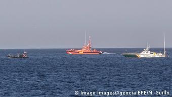 Spanien La Manga Suche nach abgestürztem C-101 Kampfflugzeug