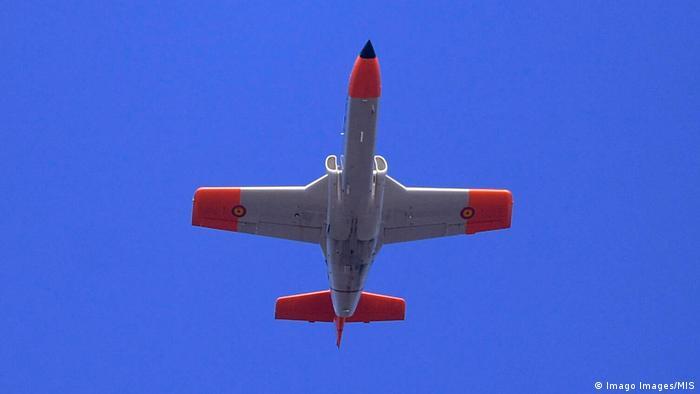 Spanien C-101 Militärflugzeug