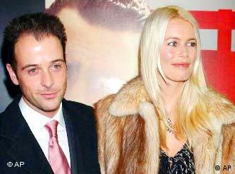 Claudia Schiffer conheceu Matthew Vaughn no começo de 2001