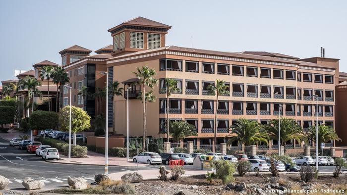 Hotel on Tenerife quarantined due to coronavirus