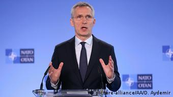 Глава НАТО Йенс Столтенберг