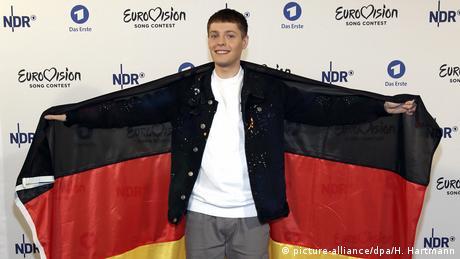 Bekanntgabe ESC Teilnehmer aus Deutschland Ben Dolic (picture-alliance/dpa/H. Hartmann)