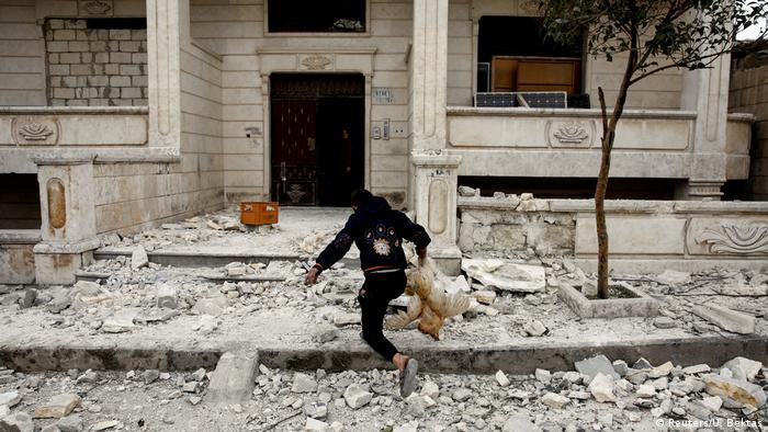 Suriye'de 2011 yılından beri iç savaş yaşanıyor
