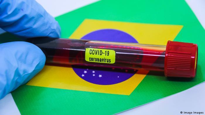 Teste de coronavírus