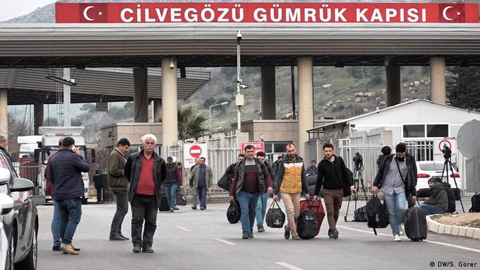 Türkei Provinz Hatay | Grenze zu Syrien | Cilvegözü Border Gate