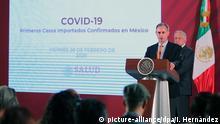 Mexiko Coronavirus Hugo Lopez-Gatell Sprecher Gesundheitsministerium