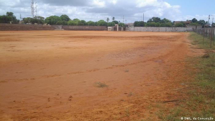 Agora só há condições para o campo deverá ser reabilitado, segundo a Federação Moçambicana de Futebol