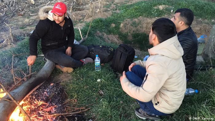 Türkei Pazarkule Grenze zu Griechenland | Flüchtlinge aus Afghanistan