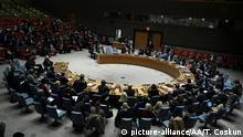 New York UN Sicherheitsrat Sondersitzung Syrien