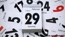 Kalender Schaltjahr 2020 29. Februar