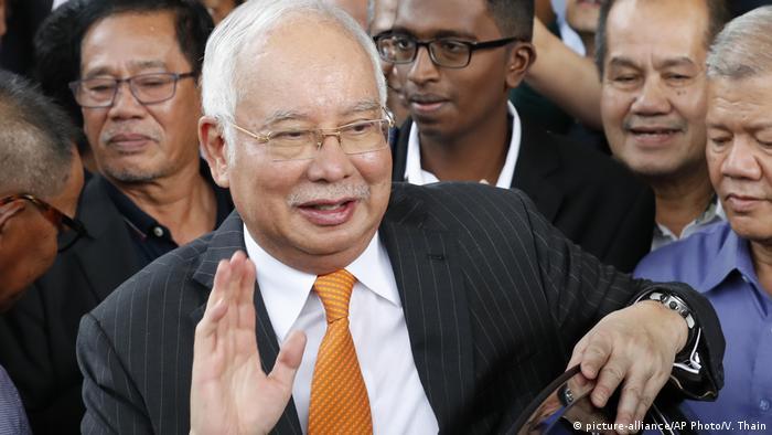 Mantan PM Malaysia Najib Razak