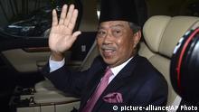 Malaysia Kuala Lumpur Muhyiddin Yassin auf dem Weg zum König