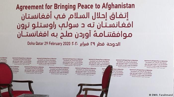 Katar Doha Vorbereitungen Unterzeichnung Friedensvertrag USA und Taliban