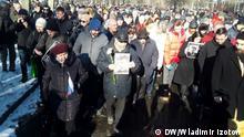 29.02.2020 *** Russland Sankt-Petersburg Gedenken an Oppositionsführer Boris Nemzow
