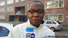 Simon Maziku aus Tansania lebt in Amsterdam Niederlande