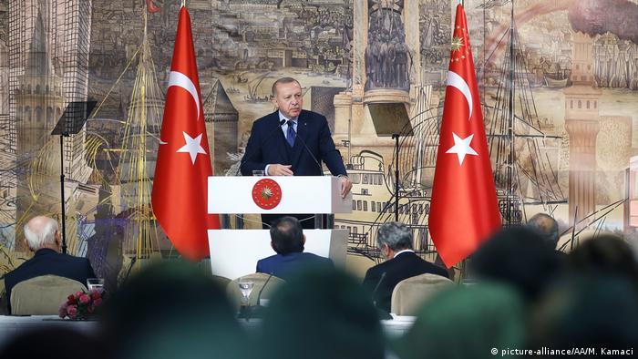 Recep Tayyip Erdogan a vorbit despre recentele decizii