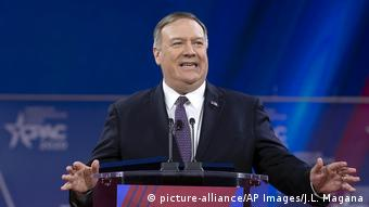 USA Außenminister Mike Pompeo (picture-alliance/AP Images/J.L. Magana)