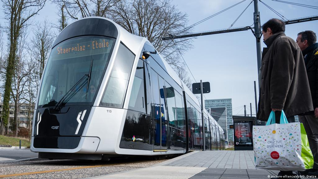 Luxembourg makes public transport free   News   DW   29.02.2020