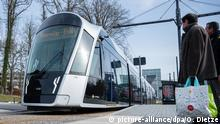 A Luxembourg tram (picture-alliance/dpa/O. Dietze)