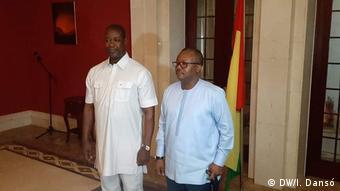 Guinea-Bissau Ehem. Parlamentspräsident übernimmt das Amt des Premierministers