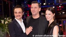 Berlinale 2020   Undine - Roter Teppich   Franz Rogowski, Christian Petzold und Paula Beer