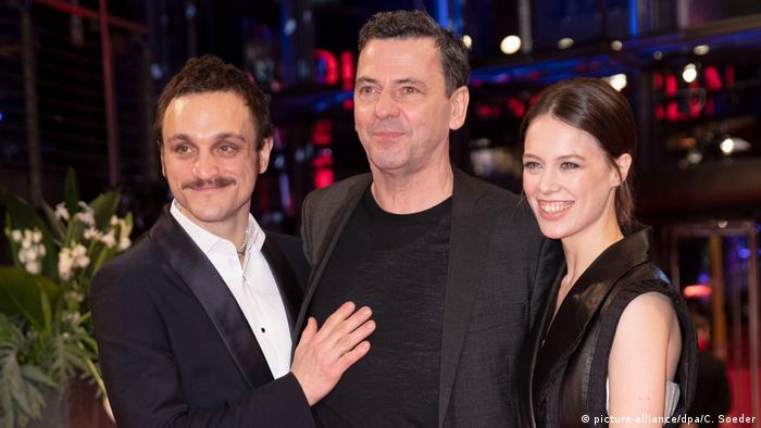 Franz Rogowski, Christian Petzold and Paula Beer (picture-alliance/dpa/C. Soeder)