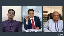 Screenshot von DW Khaled Muhiuddin Asks | Gaäste: Khalid Mahmud Chowdhury and Ruhul Kabir Rizvi