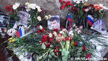 Russland Sankt-Petersburg Gedenken an Oppositionsführer Boris Nemzow