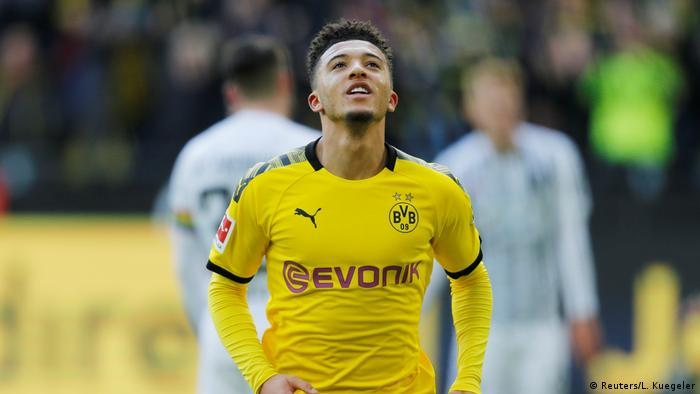 Jadon Sancho, jogador do Borussia Dortmund