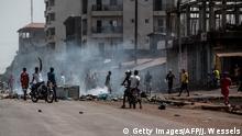 Guinea Conakry | Proteste, Demonstrationen & Ausschreitungen