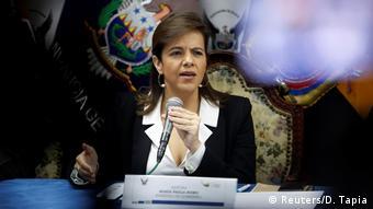 María Paula Romo, ministra de Gobierno de Ecuador.