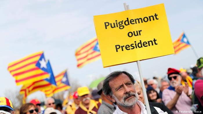 Catalan separatists gather in Perpignan, France