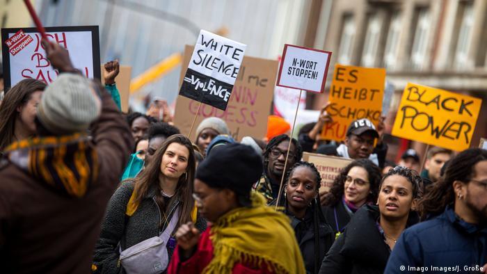 Deutschland Hamburg | Demonstration gegen das N-Wort | Protest gegen Rassismus