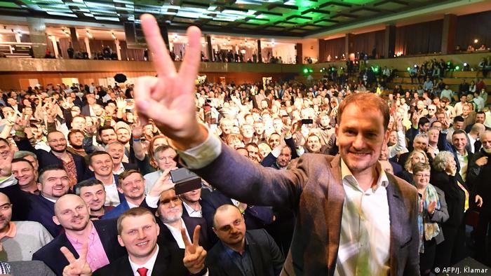 Лідер консервативної партії OL'aNO Ігор Матович