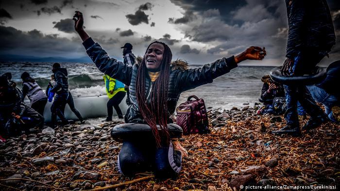 Griechenland Flüchtlinge an der türkisch-griechischen Grenze