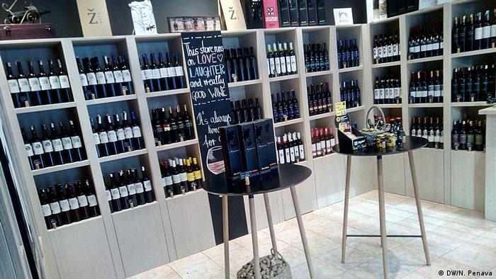 Trgovina u Sarajevu s autohtonim vinima iz Bosne i Hercegovine