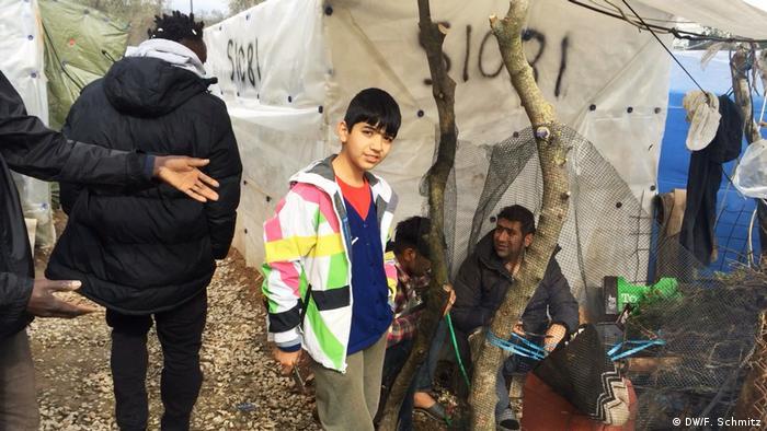 Griechenland Flüchtlinge in Lesbos