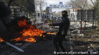 Eικόνα από τα ελλητουρκικά σύνορα, 29.02.2020 (Picture Alliance/Dpa)